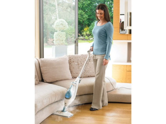 Will I be this happy mopping my floors???
