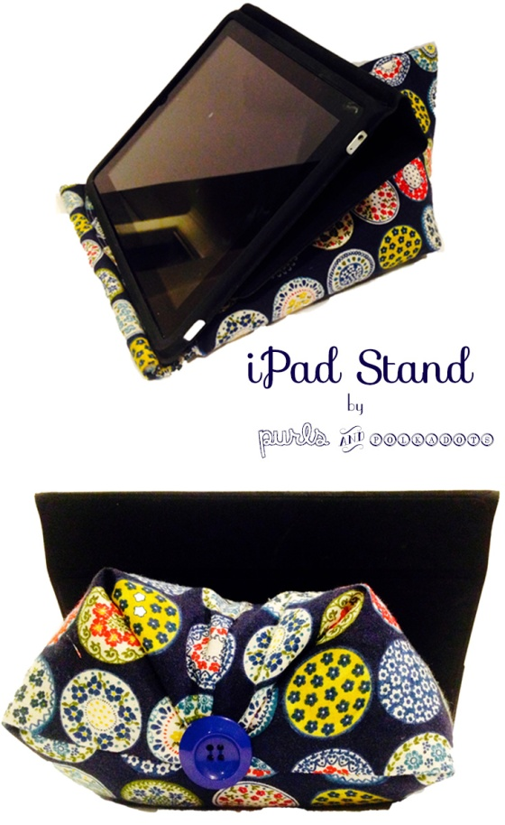 Ipad Stand by Purls and Polkadots